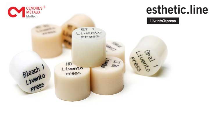 Livento press® - zadnja generacija materiala za »press«
