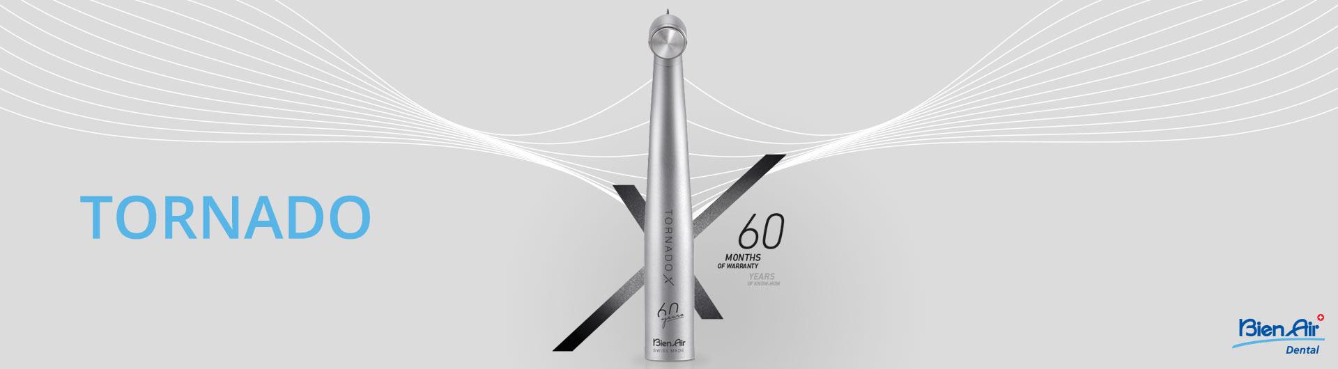 TORNADO X - nova turbina podjetja Bien Air Dental